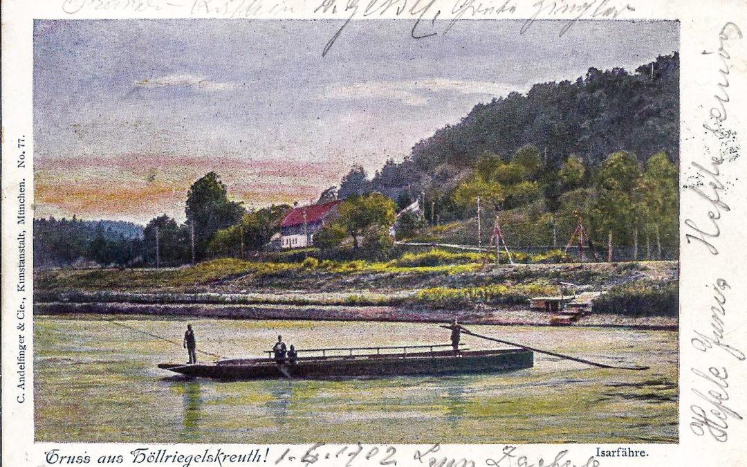 Die Grünwalder Fähren über die Isar