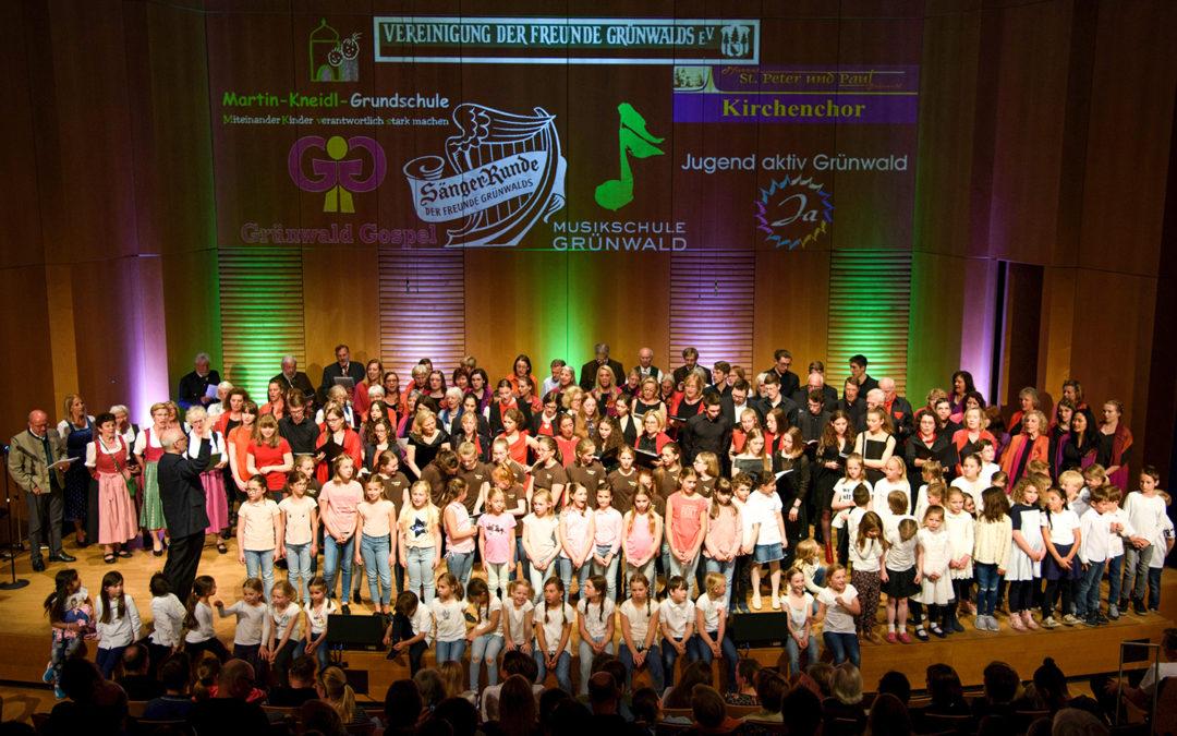 """""""Grünwald singt"""" – ein Konzert für die ganze Familie"""