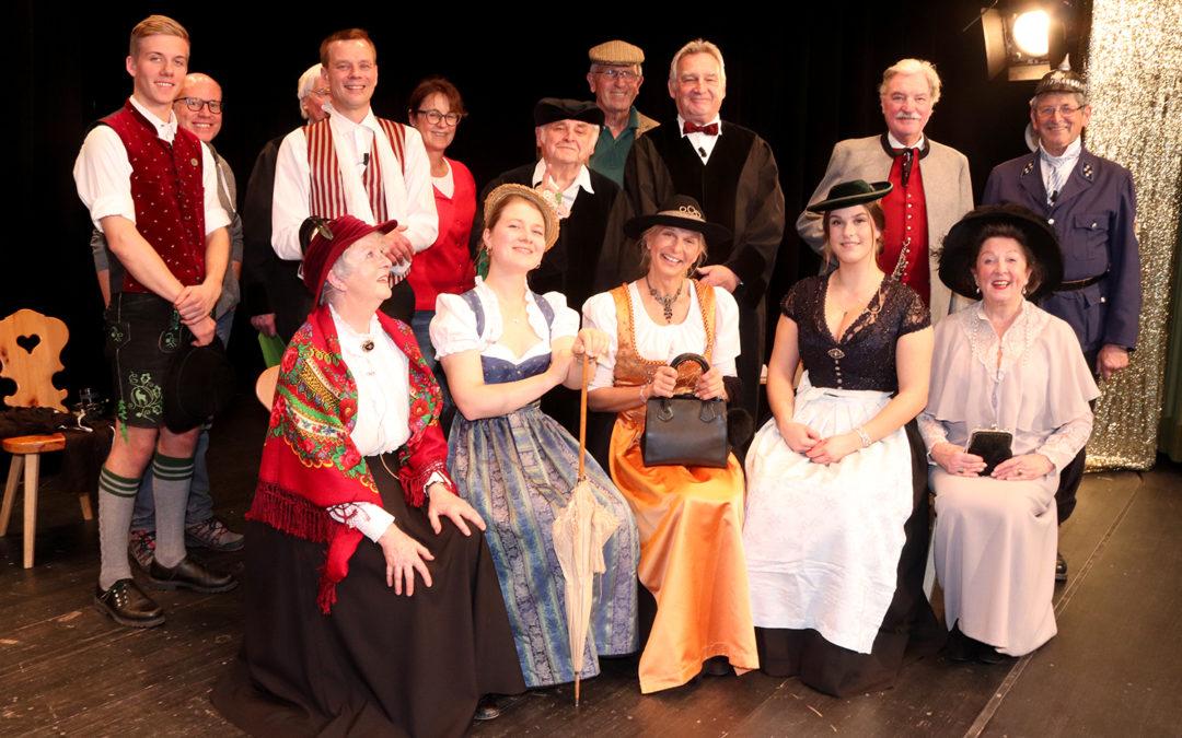 Zwei vergnügliche Stunden beim Faschingstheater der Freunde Grünwalds im Bürgerhaus Römerschanz