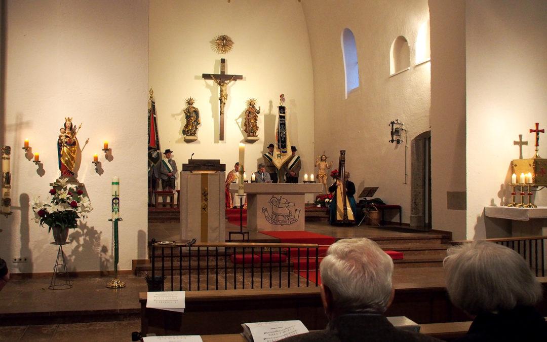 Die spätgotische Madonna aus der alten Pfarrkirche St. Peter und Paul
